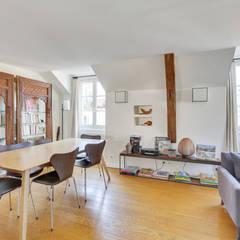 Superbe Appartement Familial Dans Le Quartier Du Marais à Paris: Salle à Manger De  Style Par