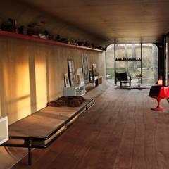 الاسكندنافية، الممر، رواق، &، درج من Bolefloor إسكندينافي خشب Wood effect