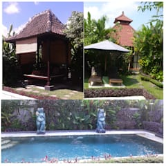 Wooden houses by comprar en bali, Asian Solid Wood Multicolored