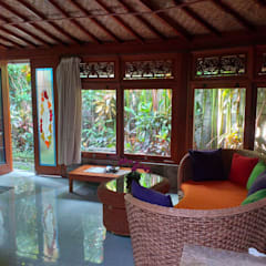 casa de campo estilo japones by comprar en bali Asian Solid Wood Multicolored