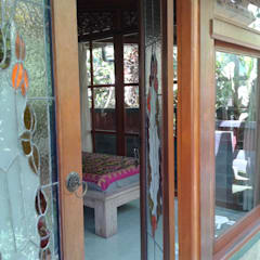 casa de campo estilo japones de comprar en bali Asiático Madera maciza Multicolor