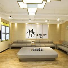 Hospitales de estilo  por 내츄럴디자인컴퍼니