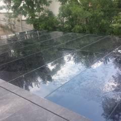 سطح مستوي / رووف مستوي تنفيذ De Todo En Aluminio, حداثي زجاج