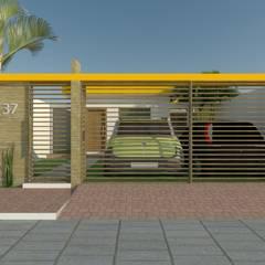 Projeto Residencial - MC por LEMA Arquitetura e Engenharia Moderno Tijolo