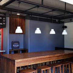 Burger Social: Locales gastronómicos de estilo  por Gamma
