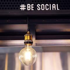 Burger Social: Locales gastronómicos de estilo  por Gamma, Moderno
