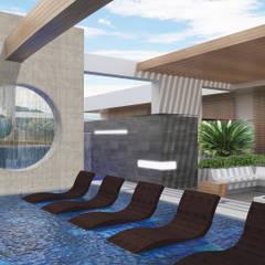 ICONO 60: Piscinas de estilo  por Diseños y construcciones Dyco, Moderno