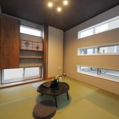 『 アソブ、sumai』:  Live Sumai - アズ・コンストラクション -が手掛けた和室です。,