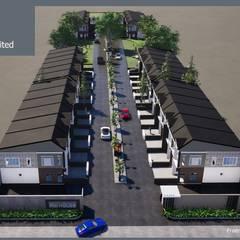 โครงการจัดสรรพื้นที่:  บ้านเดี่ยว โดย รับเขียนแบบบ้าน&ออกแบบบ้าน,