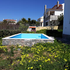 Garden Pool by Leonor da Costa Afonso