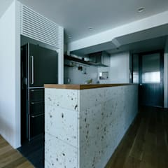 Small kitchens by ELD INTERIOR PRODUCTS, Scandinavian Stone