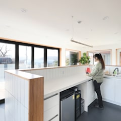 다목적 아지트,고양시 오금동 '더디퍼런스': 주택설계전문 디자인그룹 홈스타일토토의  작은 주방,