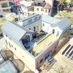 Nhà đồng quê theo 주택설계전문 디자인그룹 홈스타일토토,