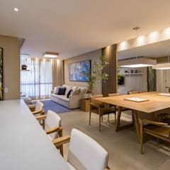 Dining room by dotti arquitetura,