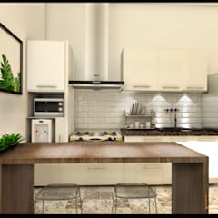 : Unit dapur oleh CV Leilinor Architect, Modern