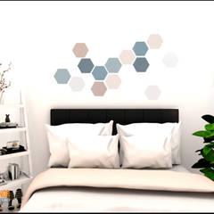 : Kamar Tidur oleh CV Leilinor Architect,
