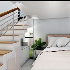 : Kamar tidur kecil oleh CV Leilinor Architect,