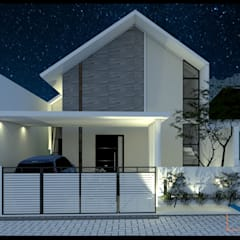 :  Rumah teras by CV Leilinor Architect