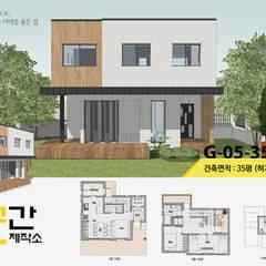 Rumah kayu by 공간제작소(주)