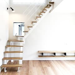 Stairs by LobeSquare, Scandinavian Wood Wood effect