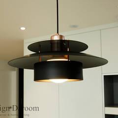 쌍문동 신원 2차 주상복합 37py: Design Daroom 디자인다룸의  작은 주방,