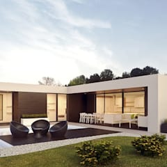 Prefabricated home by Casalium, Modern