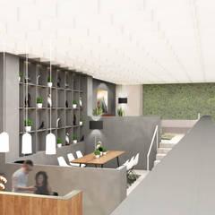 Batu Tulis Office: Gedung perkantoran oleh MODULA, Modern