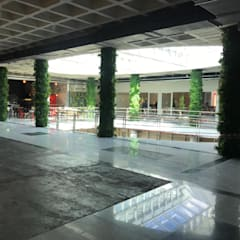 Interior Artificial Green Walls fro Residentail & Commercial de Sunwing Industries Ltd Tropical Plástico