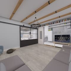 ASN İç Mimarlık  – Korkuteli Köy Evi:  tarz Oturma Odası
