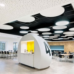 Office buildings by Hannibal Innenarchitektur, Eclectic