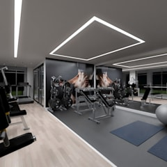 Gym by Rolf Rocha, Modern
