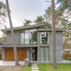 Villa Kerckebosch, Zeist:  Eengezinswoning door Engel Architecten,