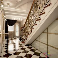 Stairs by Студия дизайна АртБюро