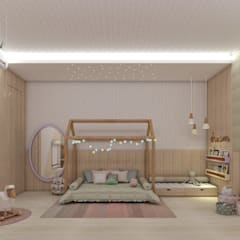 Girls Bedroom by Neuza Lima , Scandinavian