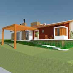 Small houses by PARALELO 36, Modern