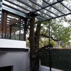 FLOR DE VIENTO: Restaurantes de estilo  por Ortiz Construcciones y Remodelacion Integral
