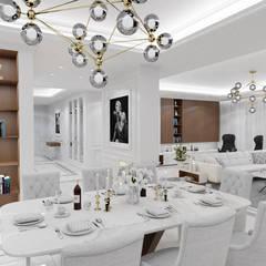Belezza: styl , w kategorii Kuchnia na wymiar zaprojektowany przez MOONFIELD STUDIO,Klasyczny