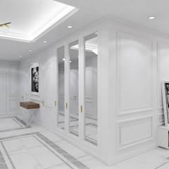 Belezza Klasyczny korytarz, przedpokój i schody od MOONFIELD STUDIO Klasyczny