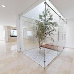 Jardines zen de estilo  por Ambás Arquitectos , Moderno