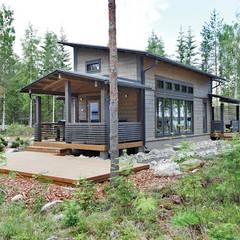 Xây dựng biệt thự mini tại TPHCM:  Nhà by TNHH xây dựng và thiết kế nội thất AN PHÚ CONs 0911.120.739, Châu Á