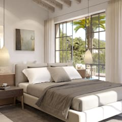 Bedroom by Fincas Cassiopea Group / FCG Architects ,