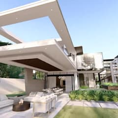 Hyde Park Luxury residence:  Houses by FRANCOIS MARAIS ARCHITECTS,