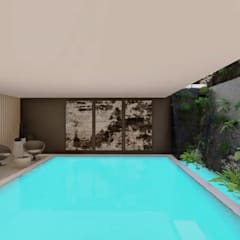 Hyde Park Luxury residence:  Pool by FRANCOIS MARAIS ARCHITECTS, Modern