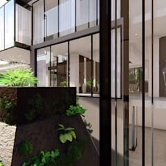 Hyde Park Luxury residence:  Garden by FRANCOIS MARAIS ARCHITECTS,