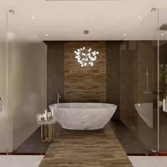Hyde Park Luxury residence:  Bathroom by FRANCOIS MARAIS ARCHITECTS, Modern