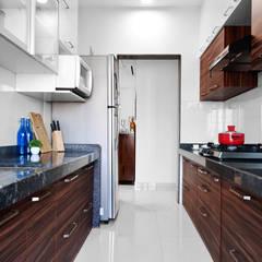 Tủ bếp theo HomeLane.com,