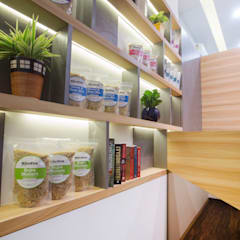 Nutrivibe:  Offices & stores by The Design Chapel