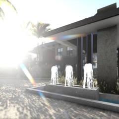 Zambian Luxury residence:  Houses by FRANCOIS MARAIS ARCHITECTS,