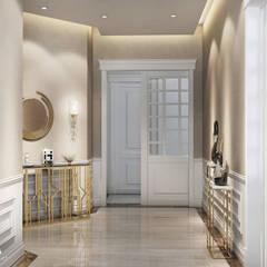 memarchitect design studio – İç mekan :  tarz Koridor ve Hol, Klasik
