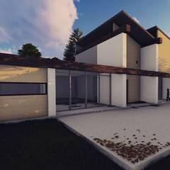 CASA HU.CU.: Casas de estilo  por CAJA Arquitectos